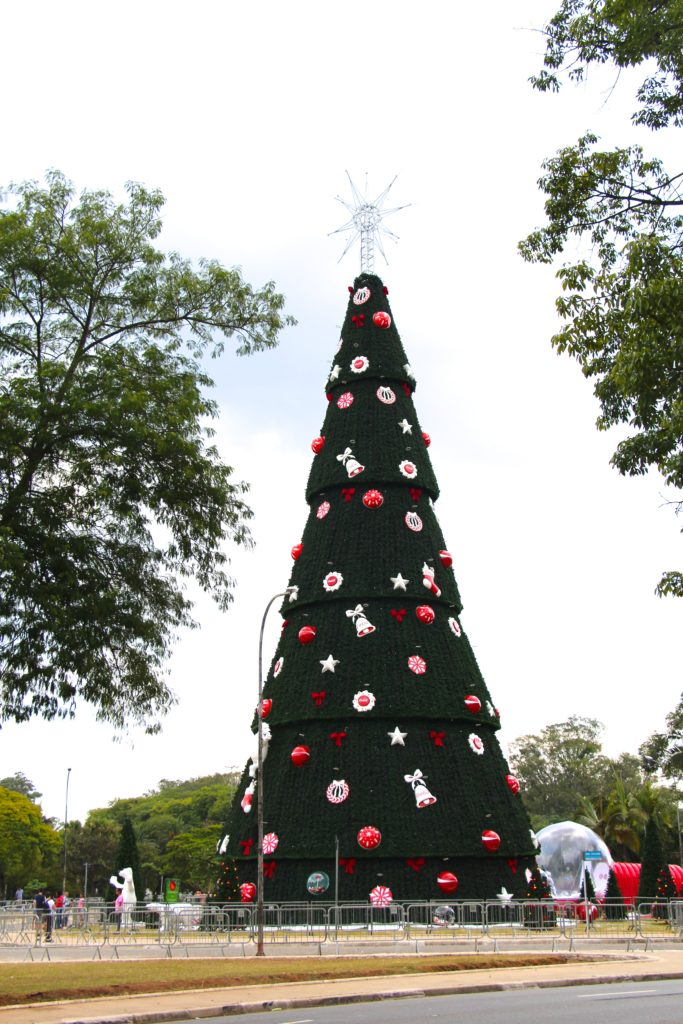 Sao Paulo Christmas Decoration park
