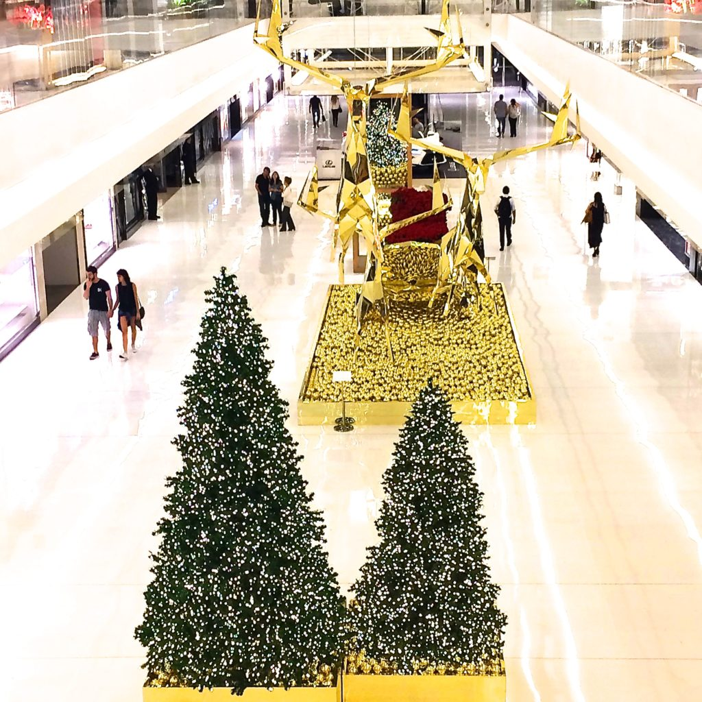 Sao Paulo Christmas decoration